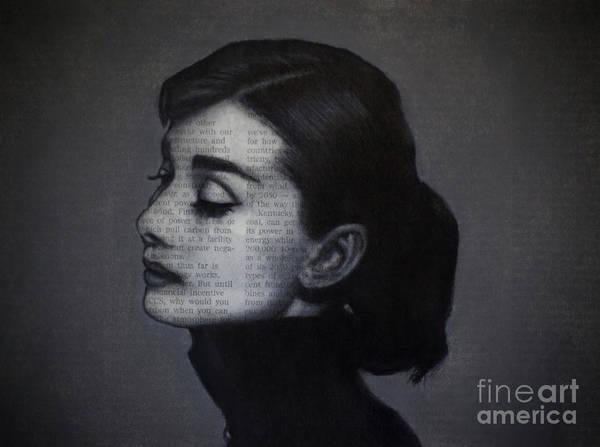 Art In The News 98-audrey Hepburn Poster