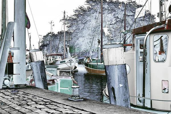 Art Print Boat 2 Poster