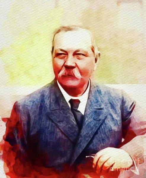 Arthur Conan Doyle, Literary Legend Poster