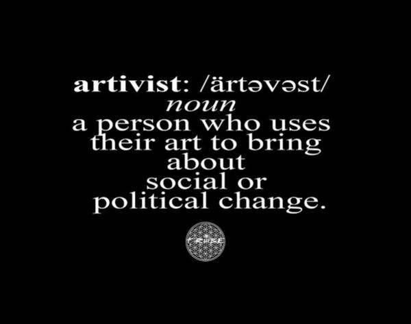 Artivism Poster