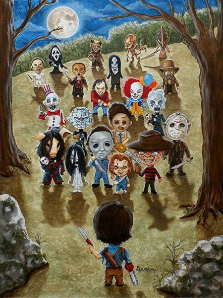 Ash Vs Everybody Poster