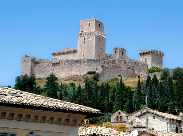 Assisi Italy - Rocca Maggiore Poster
