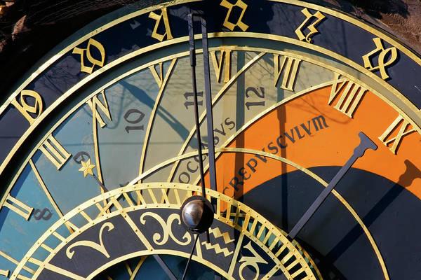 Astronomical Clock Prague Poster