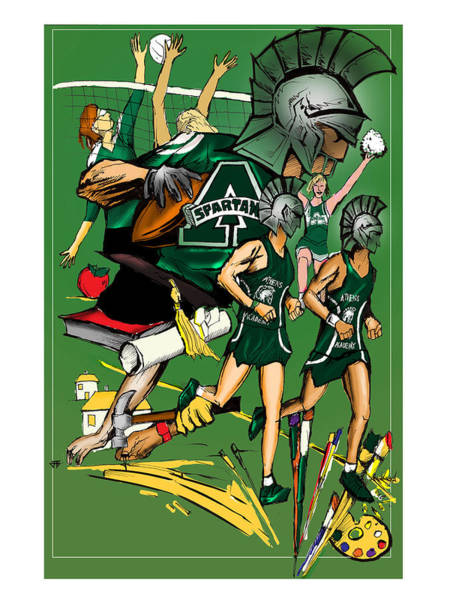 Athens Academy Poster