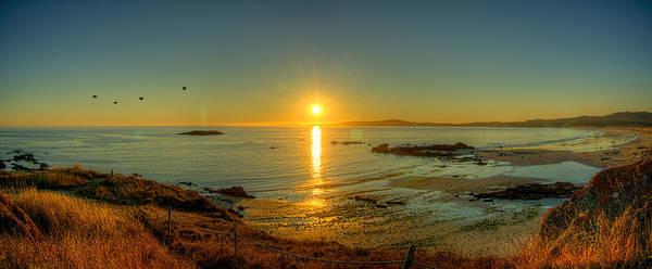 Atlantic Sunset 1 Poster
