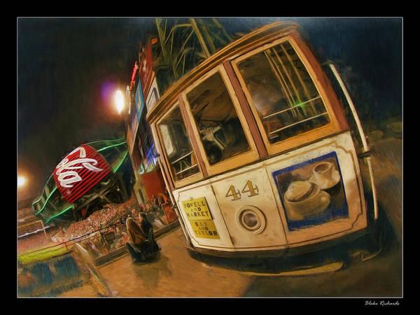 Att Park At Night Poster