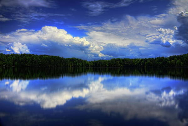 August Summertime On Buck Lake Poster