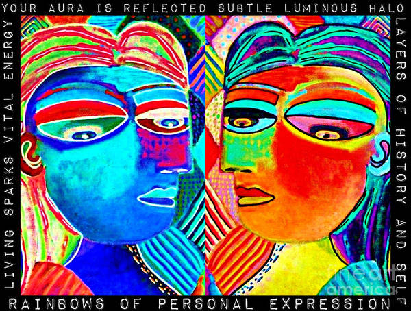 0 Aura Energy Refection Poster