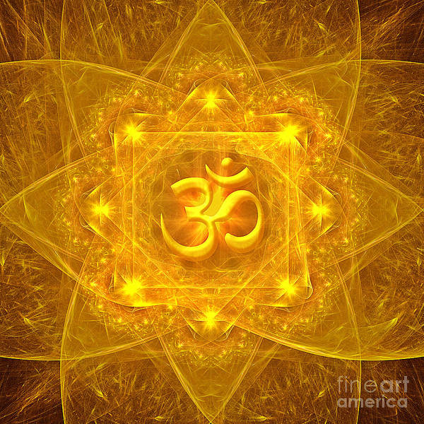 Authentic Om  Poster