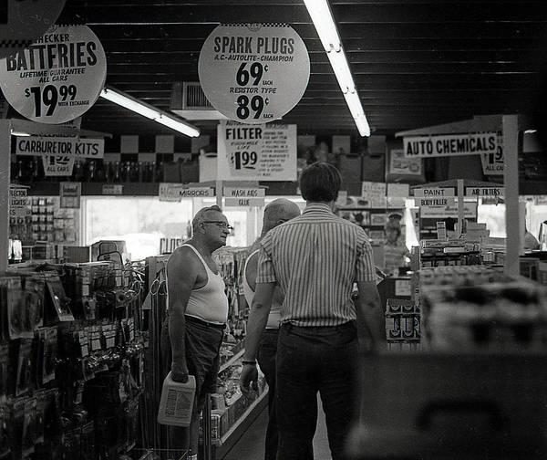 Auto-parts Store, 1972 Poster