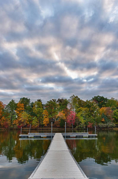 Autumn Colors At The Lake Poster