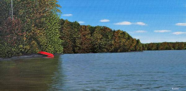 Autumn In Muskoka Poster
