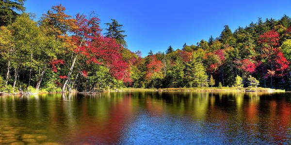 Autumn On 7th Lake Poster