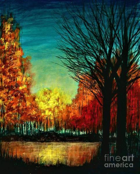 Autumn Silhouette  Poster