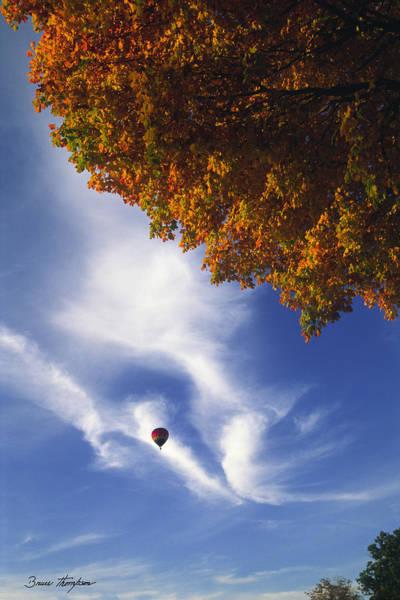 Autumn Traveler - Lake Geneva Wisconsin Poster