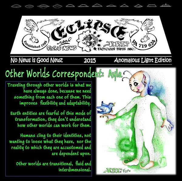 Real Fake News Alien Correspondent 1 Poster