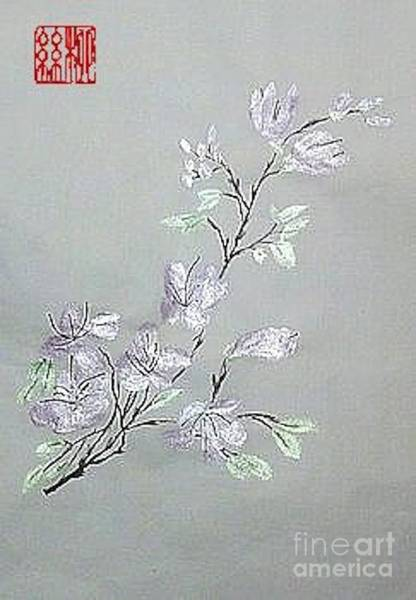 Azaleas Blooming Poster
