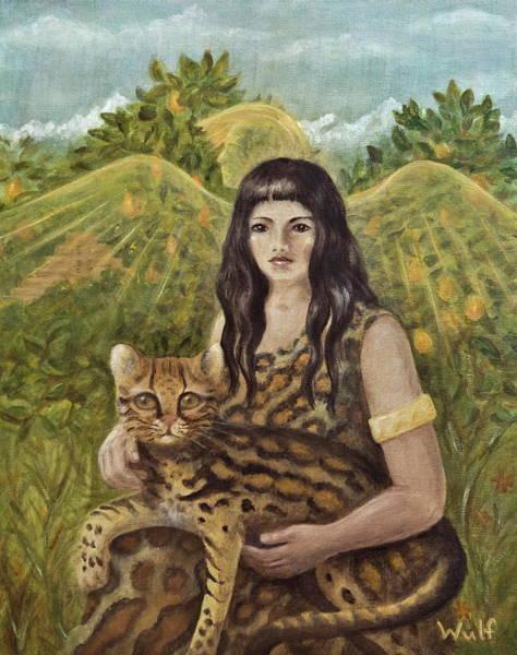 Aztec Angel Poster