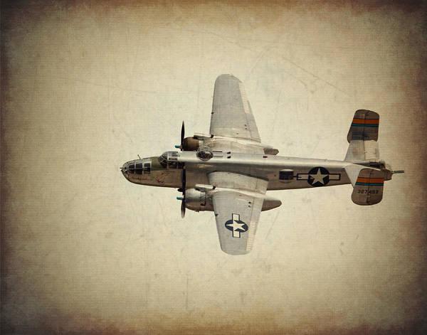 B-25j    Miss Mitchell Poster