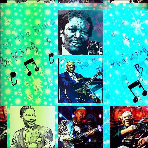B B King Of The Blues  Poster