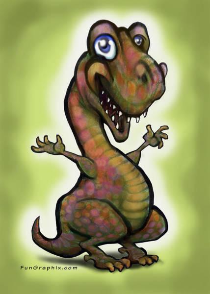 Babysaurus Rex Poster