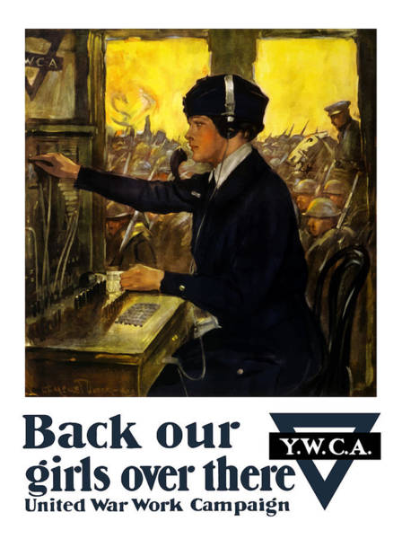 Back Our Girls Over There Poster