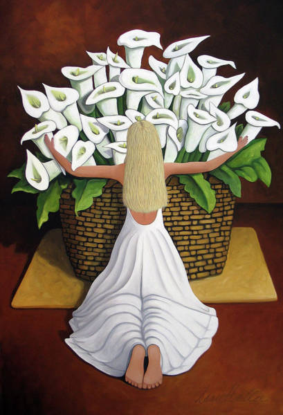 Baileyrae Lilies Poster