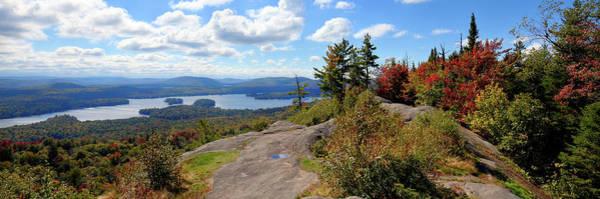 Bald Mountain Autumn Panorama Poster