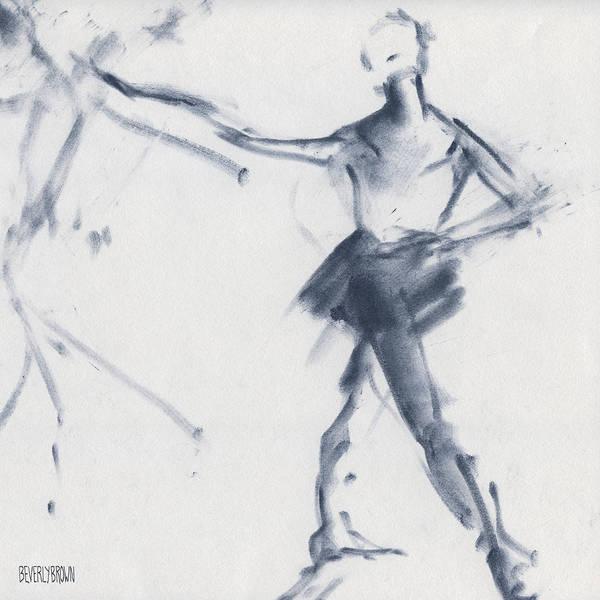 Ballet Sketch Tendu Front Poster