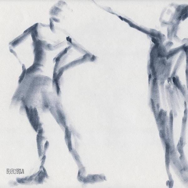 Ballet Sketch Two Dancers Shift Poster