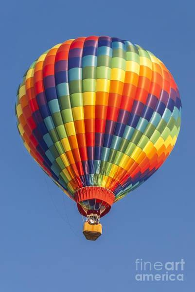 Ballooning In Color Poster