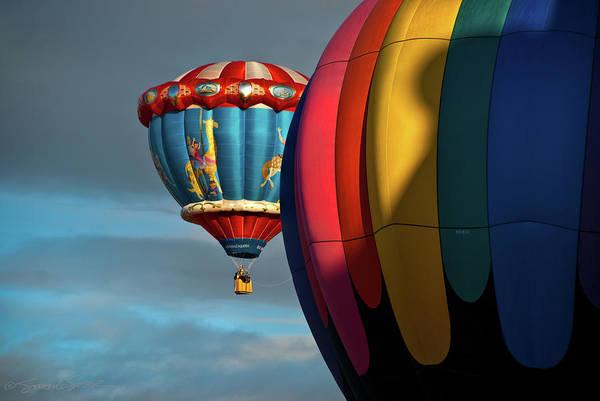 Balloons In Flights Poster