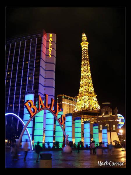 Ballys And Paris Las Vegas Poster
