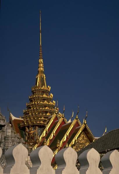 Poster featuring the photograph Bangkok Grand Palace by Travel Pics