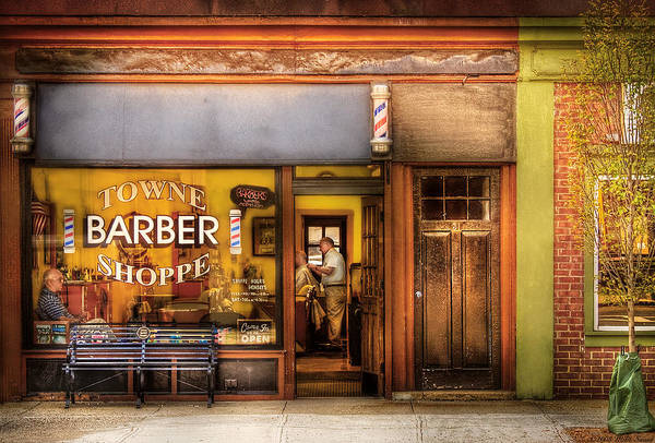 Barber - Towne Barber Shop Poster