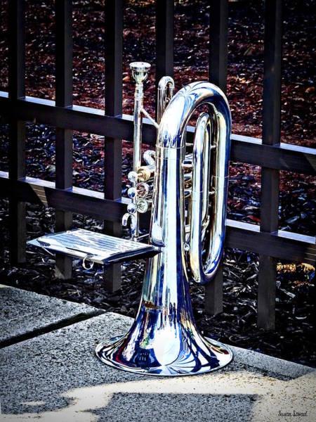 Baritone Horn Before Parade Poster
