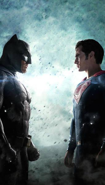 Batman V Superman - Dawn Of Justice Poster
