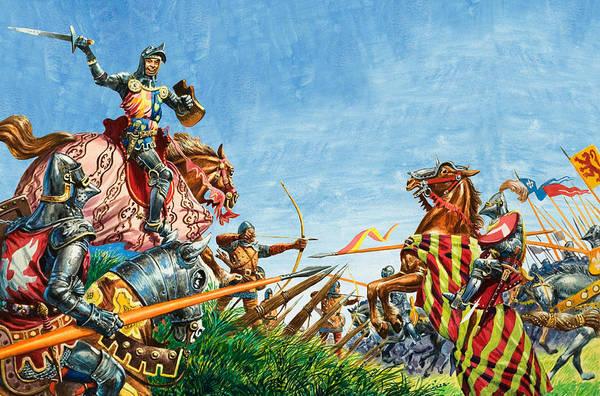 Battle Of Agincourt Poster