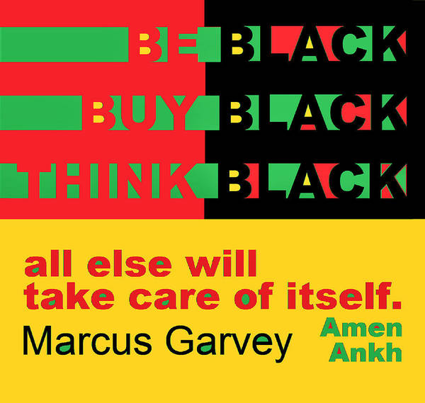 Be Black Rbg Poster