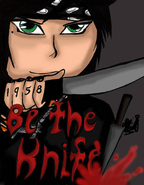 Be The Knife Poster