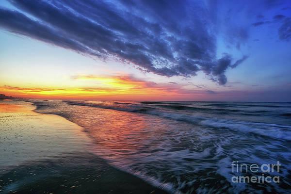Beach Cove Sunrise Poster