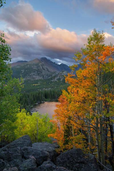 Bear Lake Autumn Poster