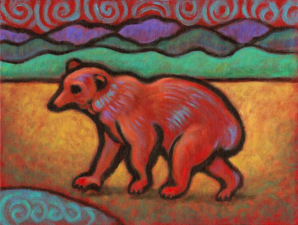 Bear Totem Animal Poster