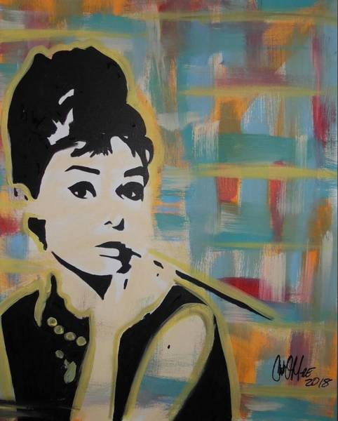 Beautiful Hepburn Poster