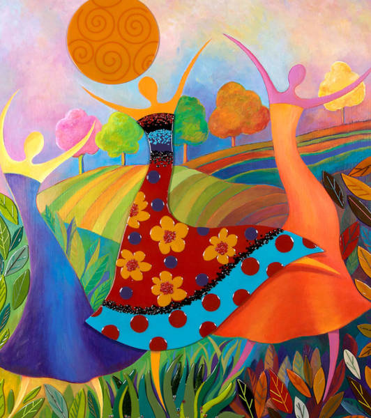 Beauty Through Her Seasons Poster