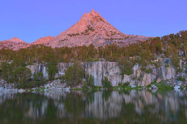 Bell Peak Alpenglow Poster