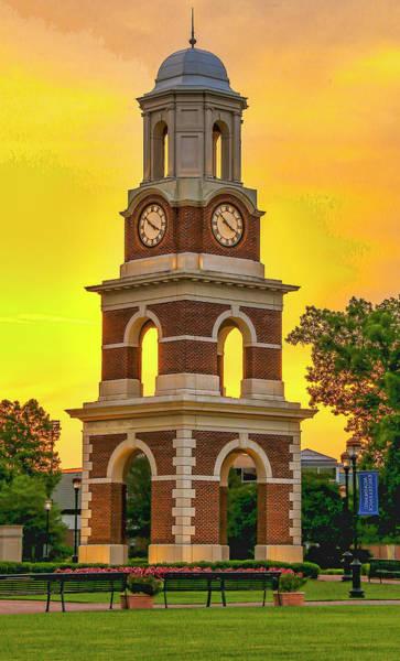 Bell Tower At Christopher Newport University C N U Poster