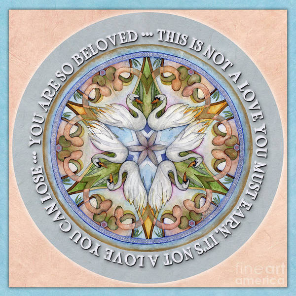 Beloved Mandala Prayer Poster