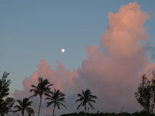 Bermuda Morning Moon Poster