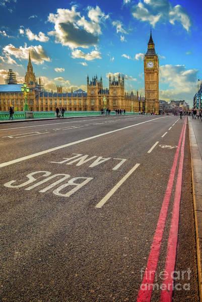 Big Ben Westminster Poster